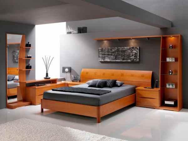 Uporaba lesa za spalnice